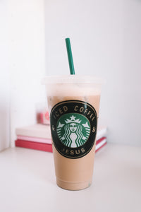 Iced Coffee Venti Cup Black