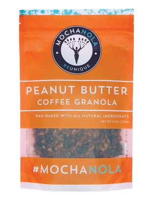 Peanut Butter Coffee Granola