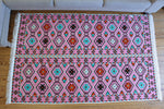 Neu 130x 200 cm Waschbarer Teppich, Kelim ,Carpet,Rug, RS 2-4-40 - Damaskunst - [variant_title]-[option1]