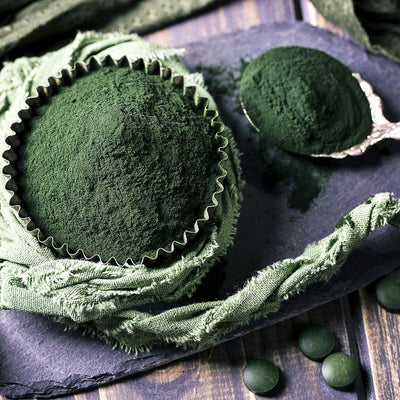 The Highly Nutritious Spirulina Powder