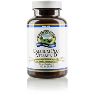Calcium Plus Vitamin D.