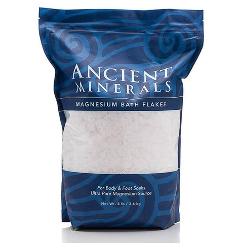organic post-workout supplements Ancient Minerals Magnesium Flakes 3.63kg