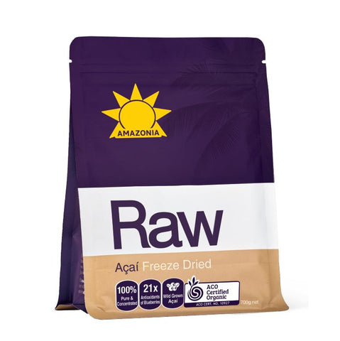 acai powder 1kg - Amazonia Raw Açaí Freeze Dried Powder 700g