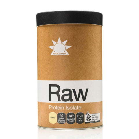 raw protein isolate - Amazonia Raw Protein Isolate Vanilla Powder 1kg