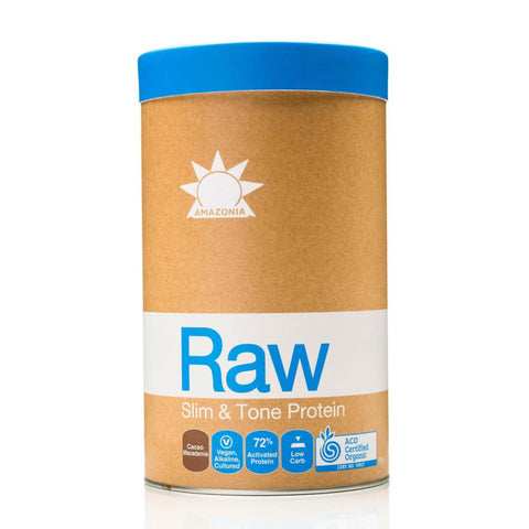 Amazonia Raw Protein Isolate Cacao and Macadamia Powder 1kg