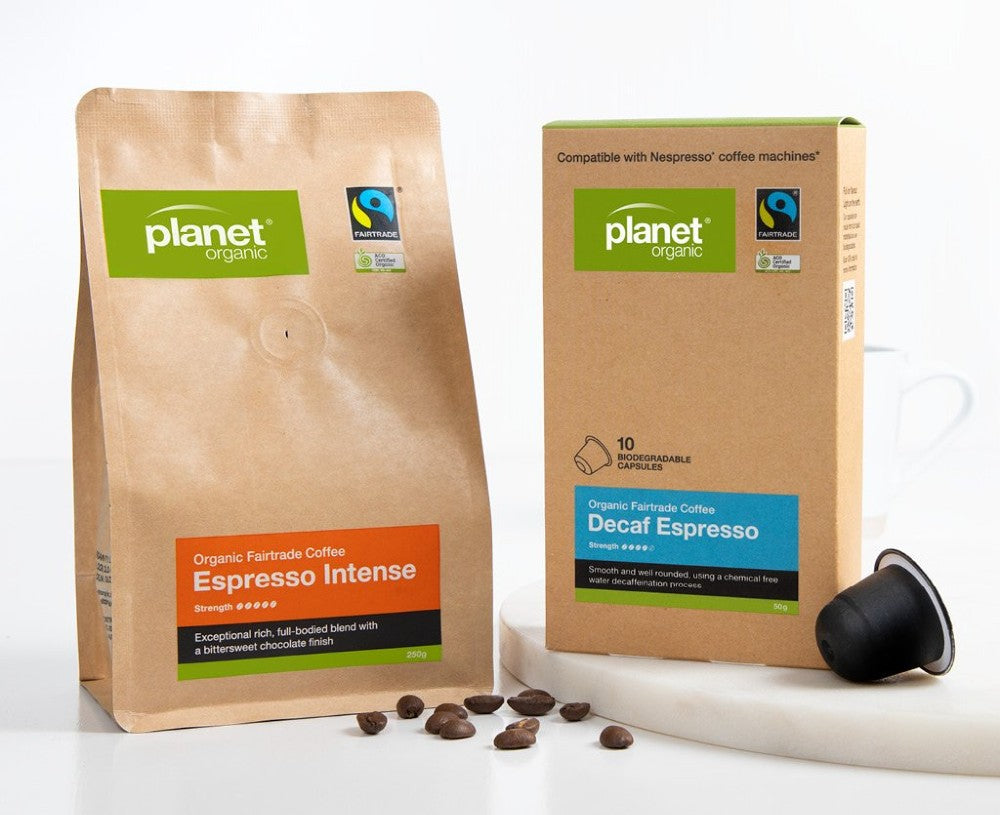 Planet Organic - Reduced Packaging