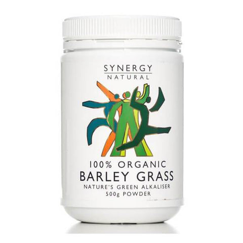 Synergy Natural Organic Barley Grass Powder 500g