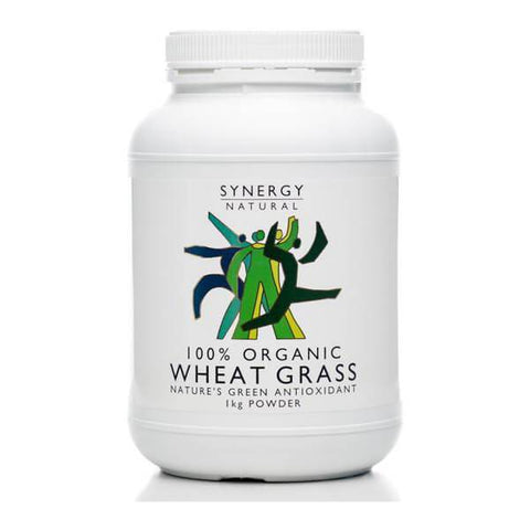 Synergy Natural Organic Wheatgrass Powder 1kg