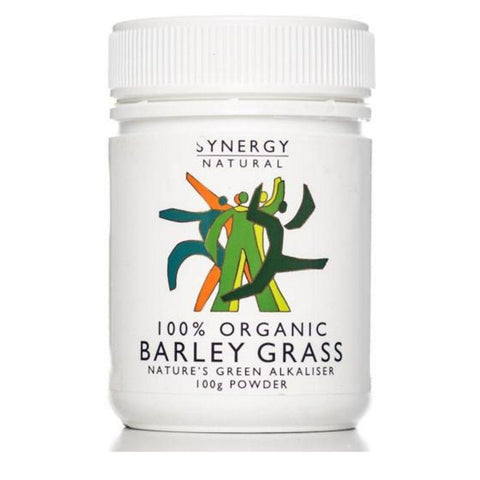 Barley Drink Powder - Synergy Natural Organic Barley Grass Powder 100g