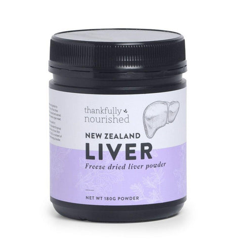 Thankfully Nourished NZ Liver Powder 180g