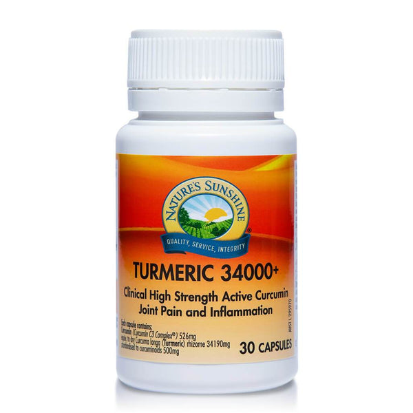 Nature's Sunshine New Turmeric 34000+ (30 caps)