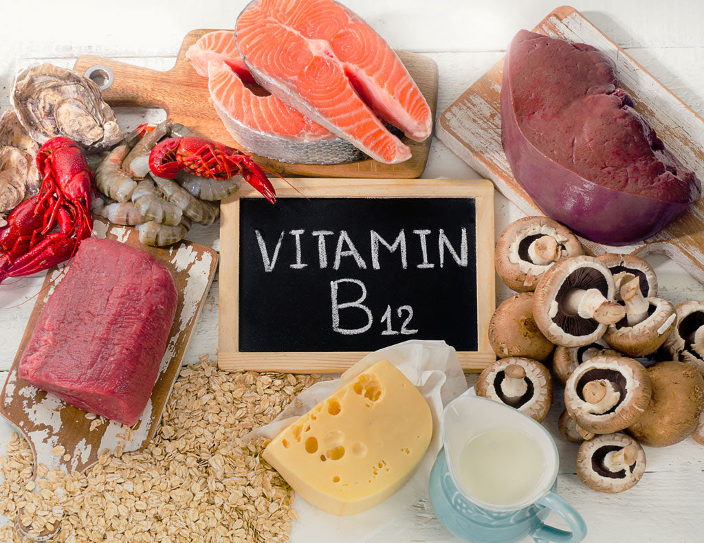 where does vitamin b12 come from naturally