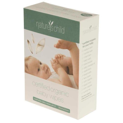 natures child baby wipes organic