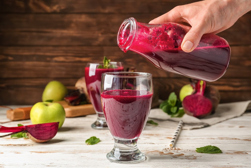 beetroot and low blood pressure - smoothie
