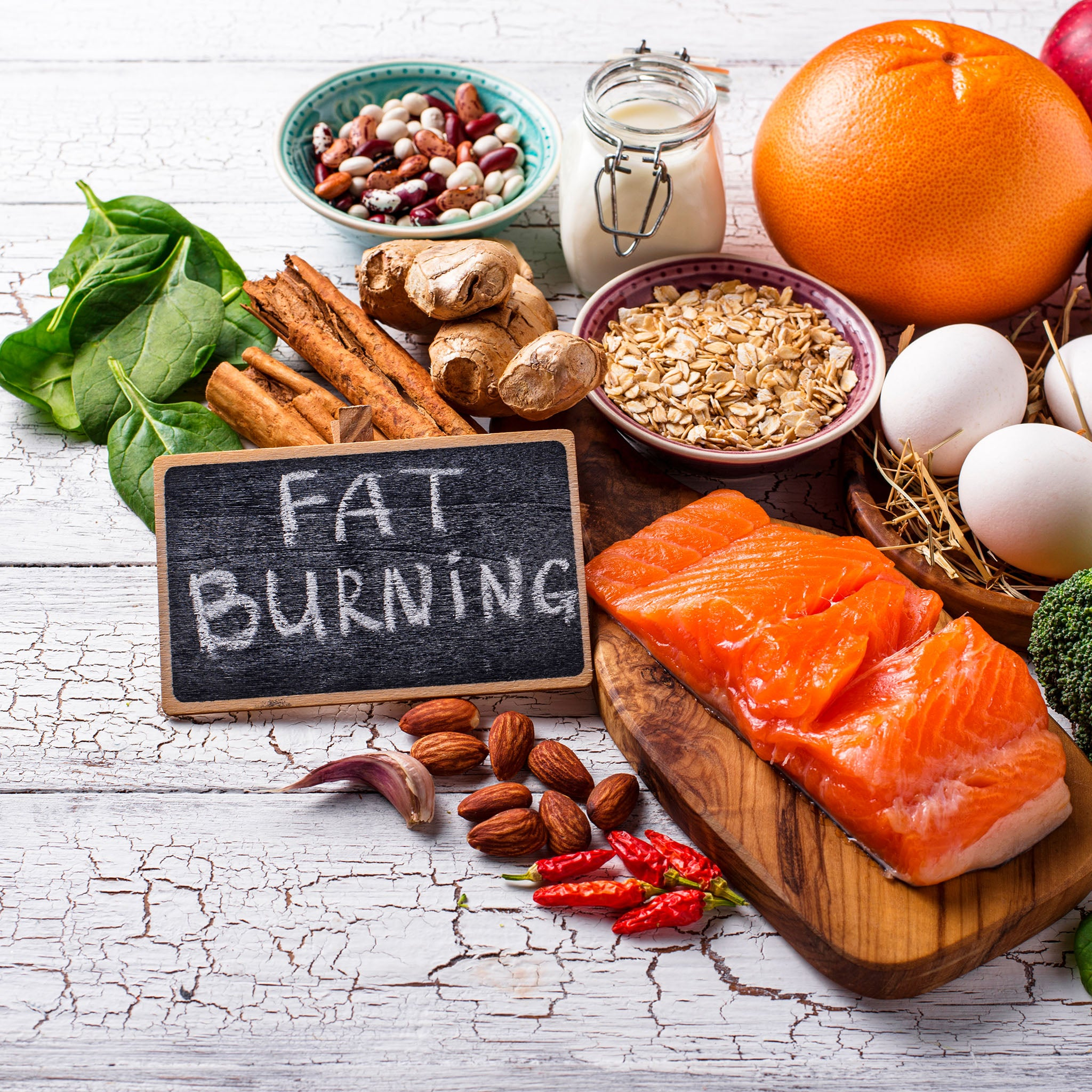 10 Most Fat Burning Foods