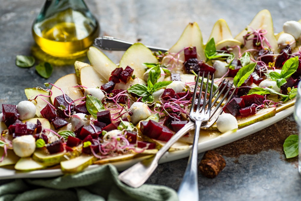 Beetroot Sprouts - lifestyle