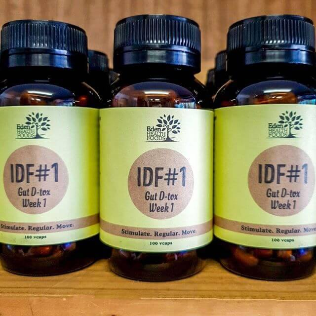 Eden Healthfoods IDF #1 Gut D-tox Week 1 (Vegecaps 100) - EZ Organic Shop