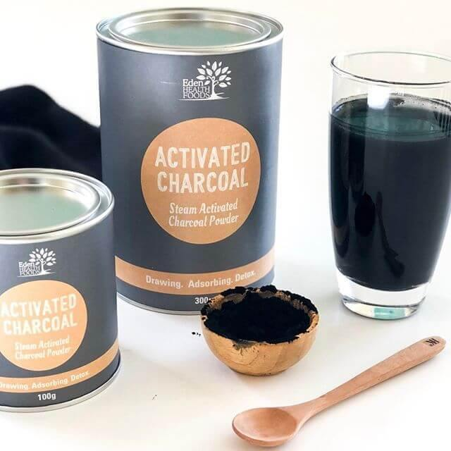 Eden Healthfoods Activated Charcoal Powder - EZ Organic Shop
