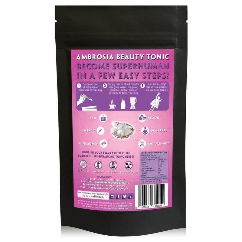 Teelixir Ambrosia Beauty Tonic Powder - EZ Organic Shop