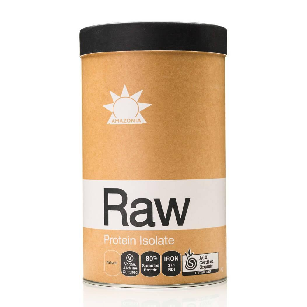 Amazonia Raw Protein Isolate Natural Powder 1kg