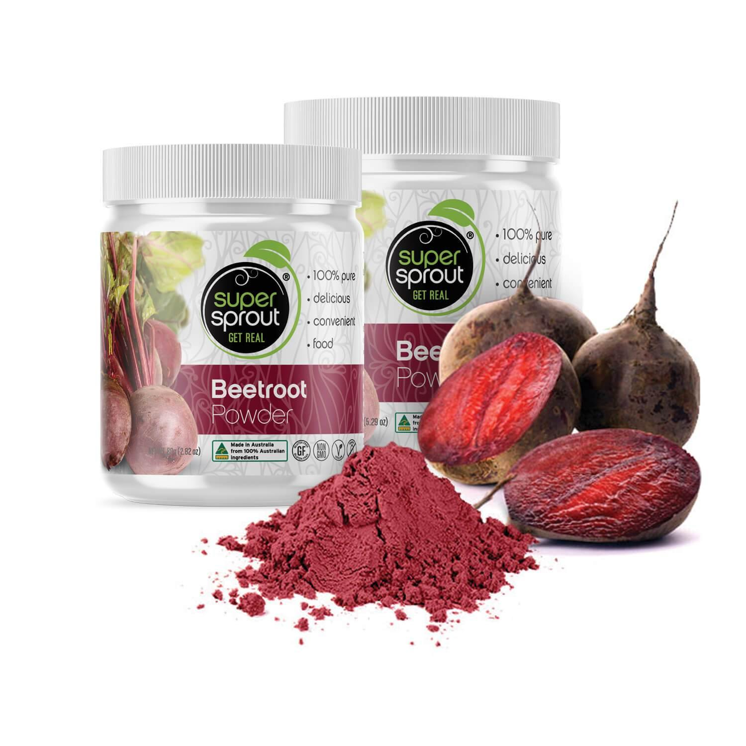 Super Sprout Beetroot Powder - EZ Organic Shop