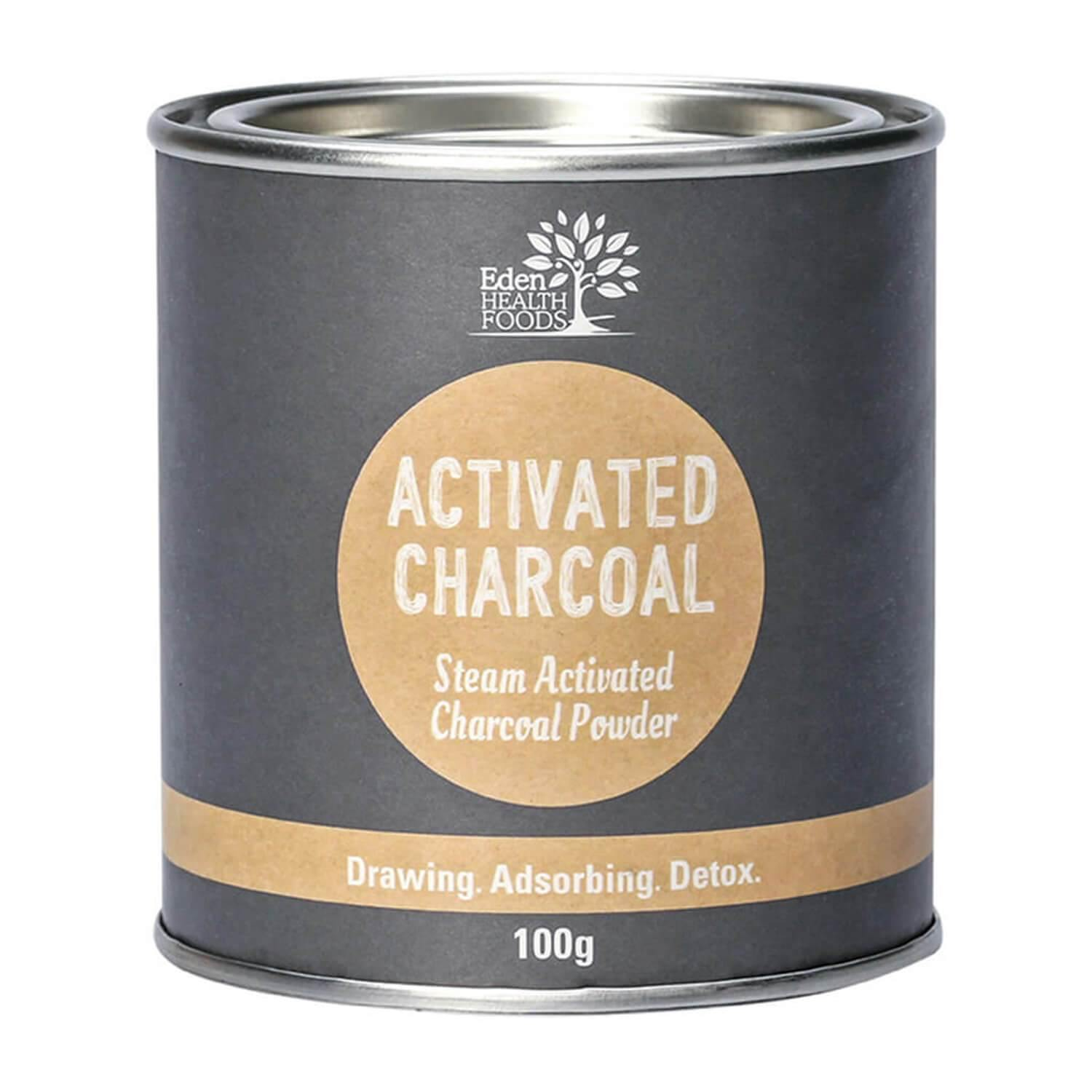 Eden Healthfoods Activated Charcoal Powder 100g