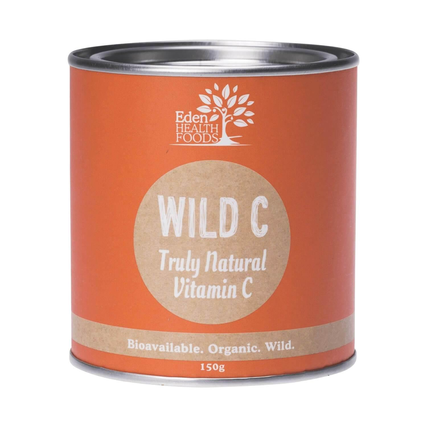 Eden Healthfoods Wild C Natural Vitamin C Powder 150g - EZ Organic Shop