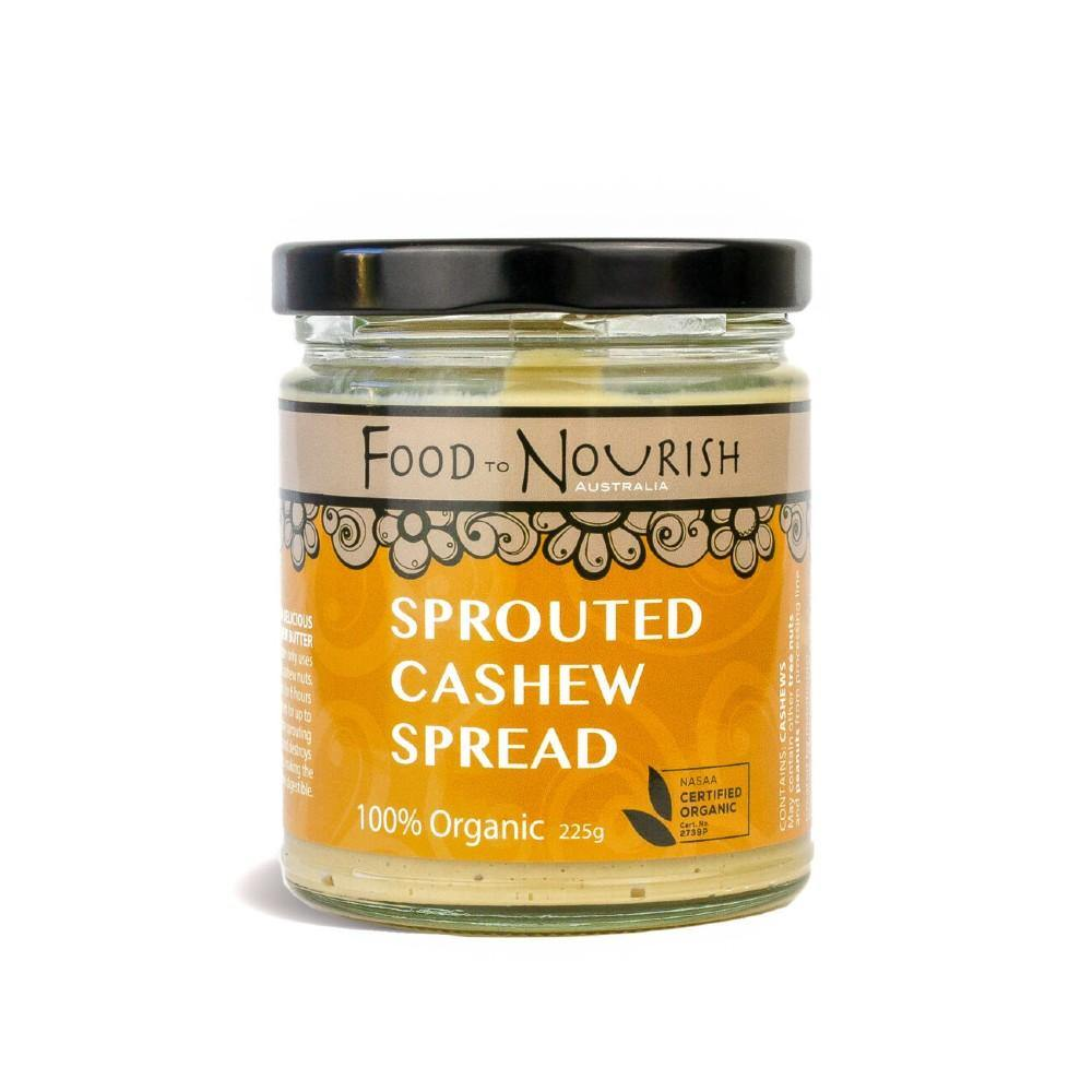Food to Nourish Activated Cashew Spread 225g