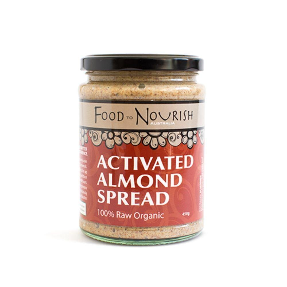 Food to Nourish Almond Sprouted Spread 450g