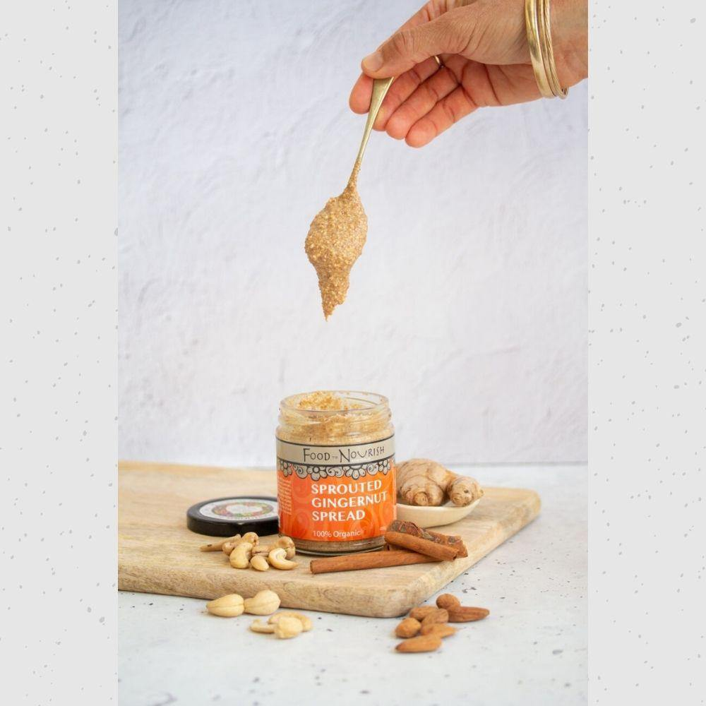 Food to Nourish Sprouted Ginger Nut Spread 225g