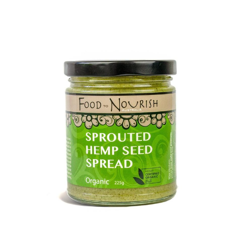 Food to Nourish Sprouted Hemp Seed Spread 225g