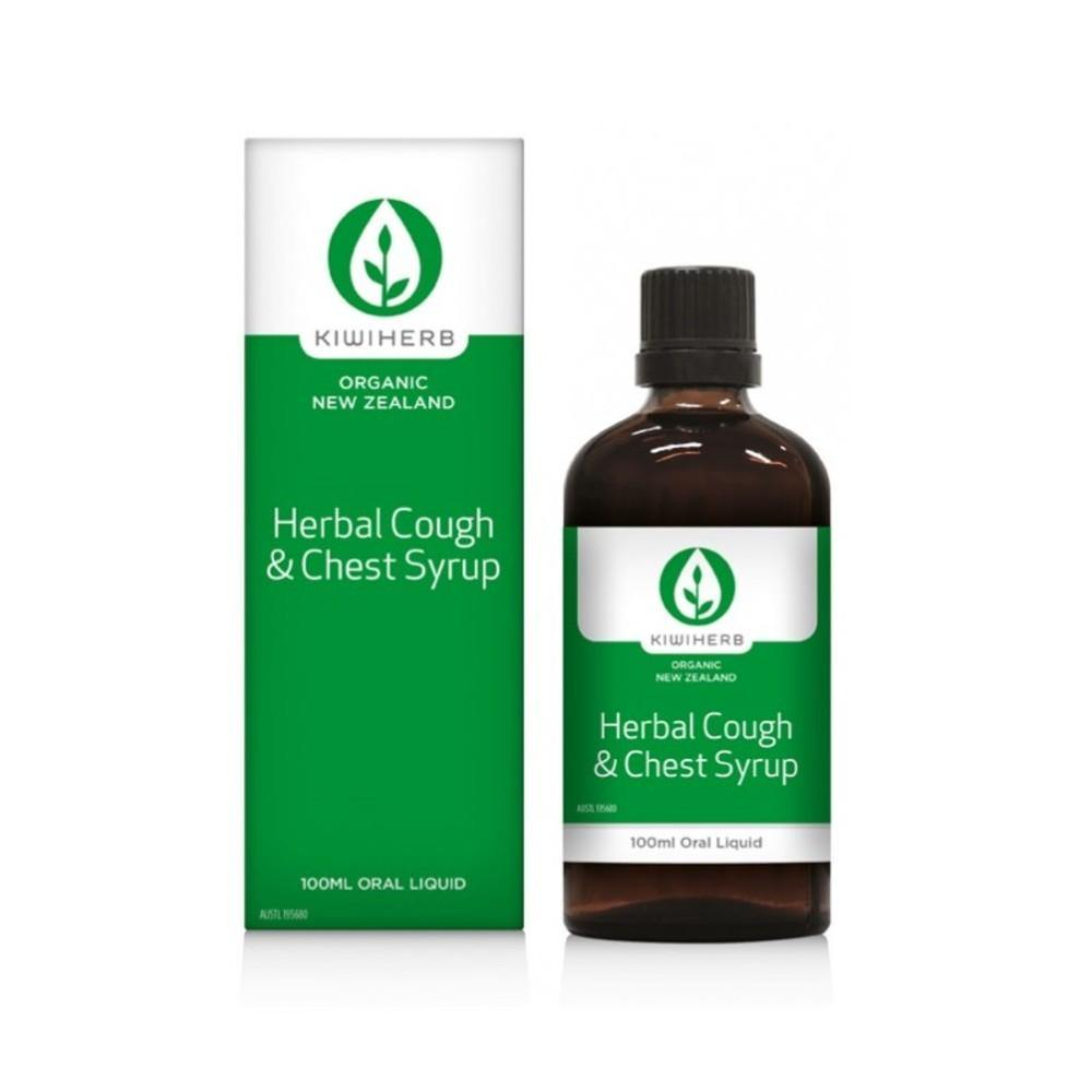 Kiwiherb Herbal Cough & Chest Syrup 100ml
