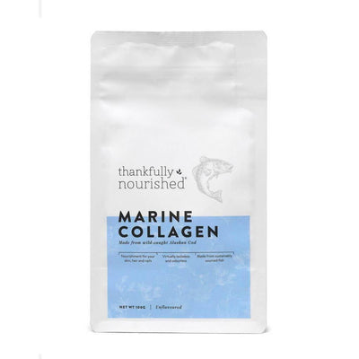 Thankfully Nourished Marine Collagen Powder 100g