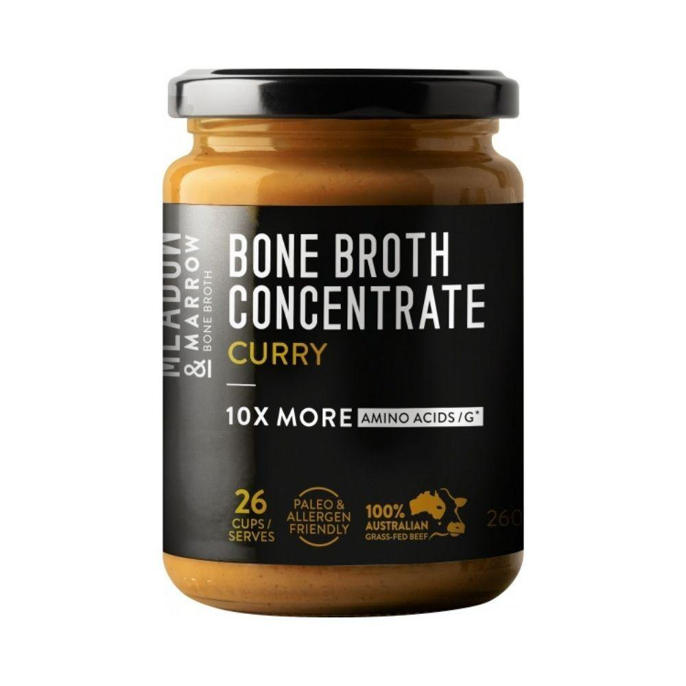 Meadow & Marrow Bone Broth Concentrate Curry 260g