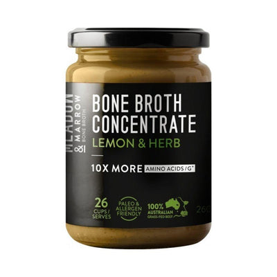 Meadow & Marrow Bone Broth Concentrate Lemon & Herb 260g