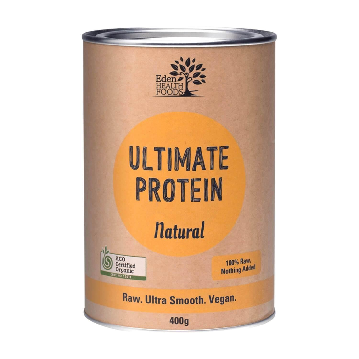 Eden Healthfoods Ultimate Natural Protein Powder 400g