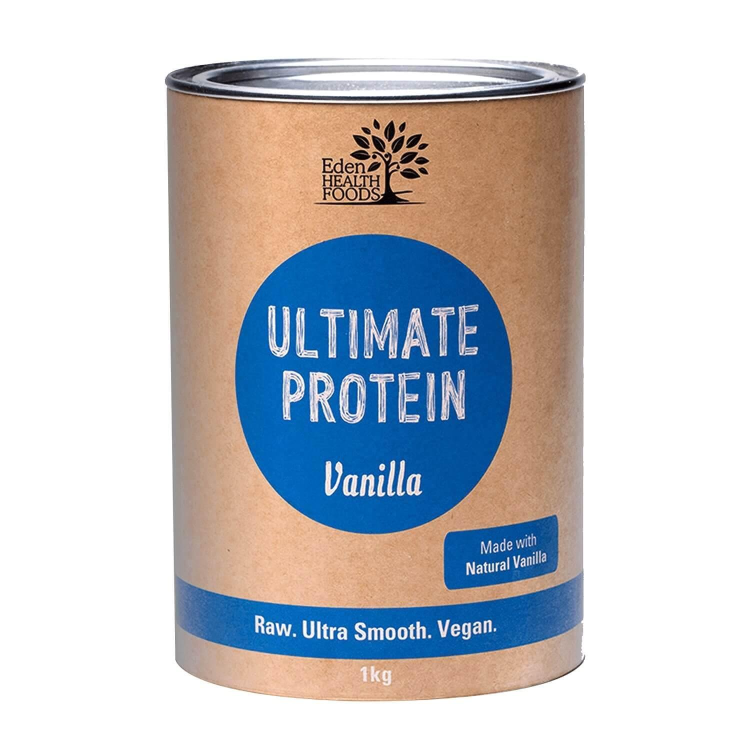 Eden Healthfoods Ultimate Vanilla Protein Powder - EZ Organic Shop