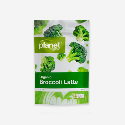 Planet Organic Broccoli Latte 100g