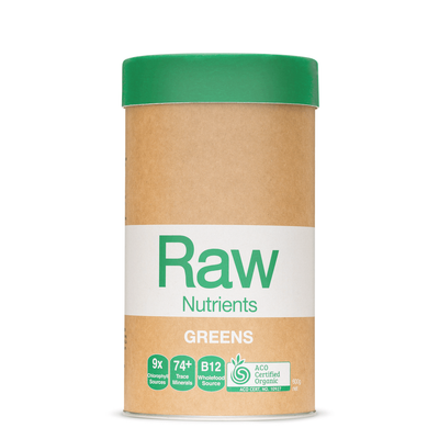Amazonia Raw Prebiotic Greens Powder 600g