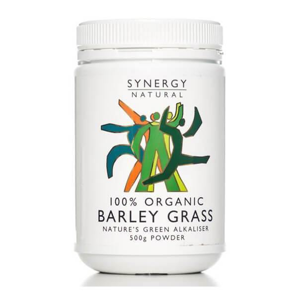 Synergy Natural Organic Barley Grass (powder) - EZ Organic Shop