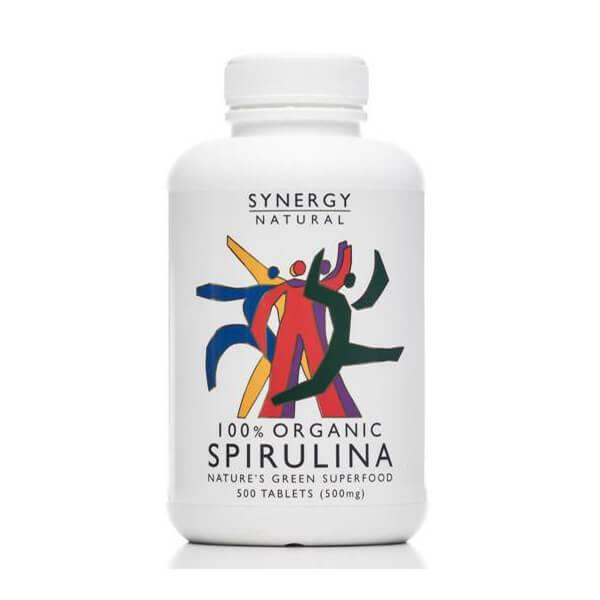 Synergy Natural Organic Spirulina (tablets) - EZ Organic Shop