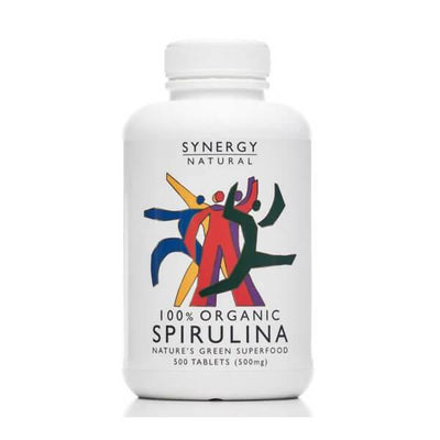 Synergy Natural Organic Spirulina 500 tablets
