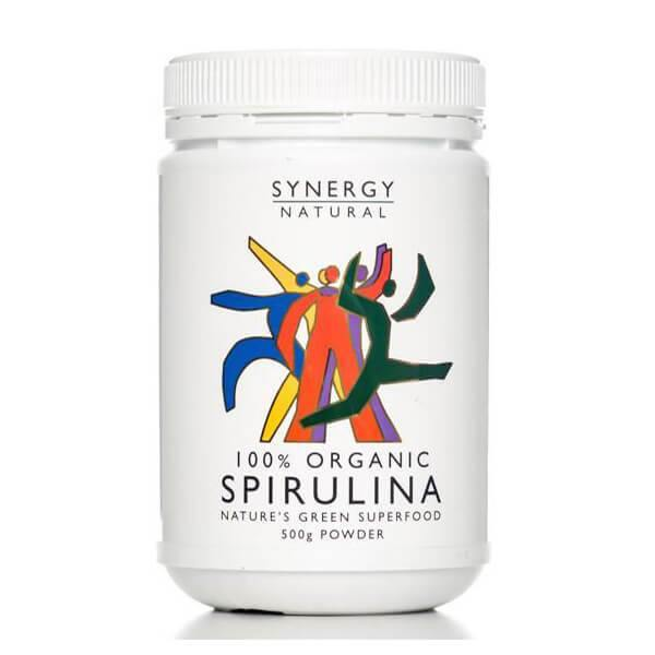 Synergy Natural Organic Spirulina (powder) - EZ Organic Shop