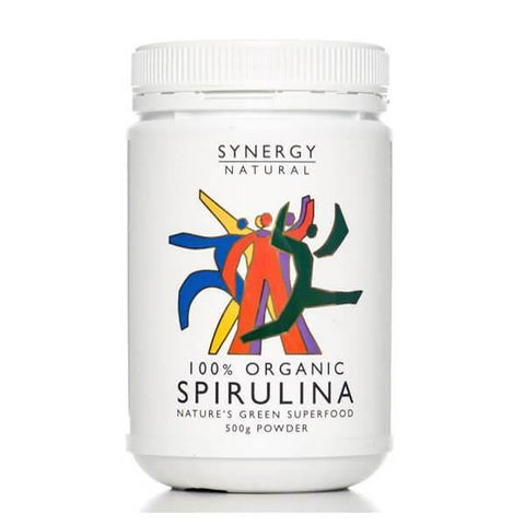 Synergy Natural Organic Spirulina Powder 500g