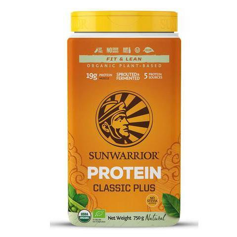 Sunwarrior Classic PLUS Organic Natural Powder 750g - EZ Organic Shop