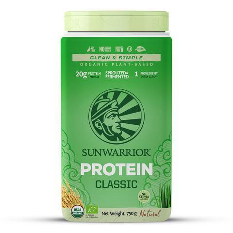 Sunwarrior Classic Organic Natural Powder 750g - EZ Organic Shop