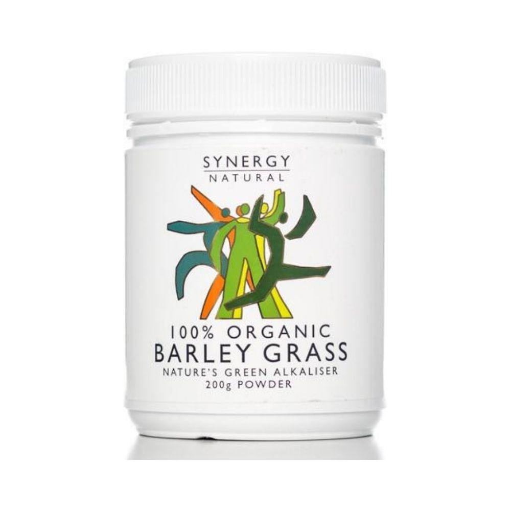 Synergy Natural Organic Barley Grass Powder 200g