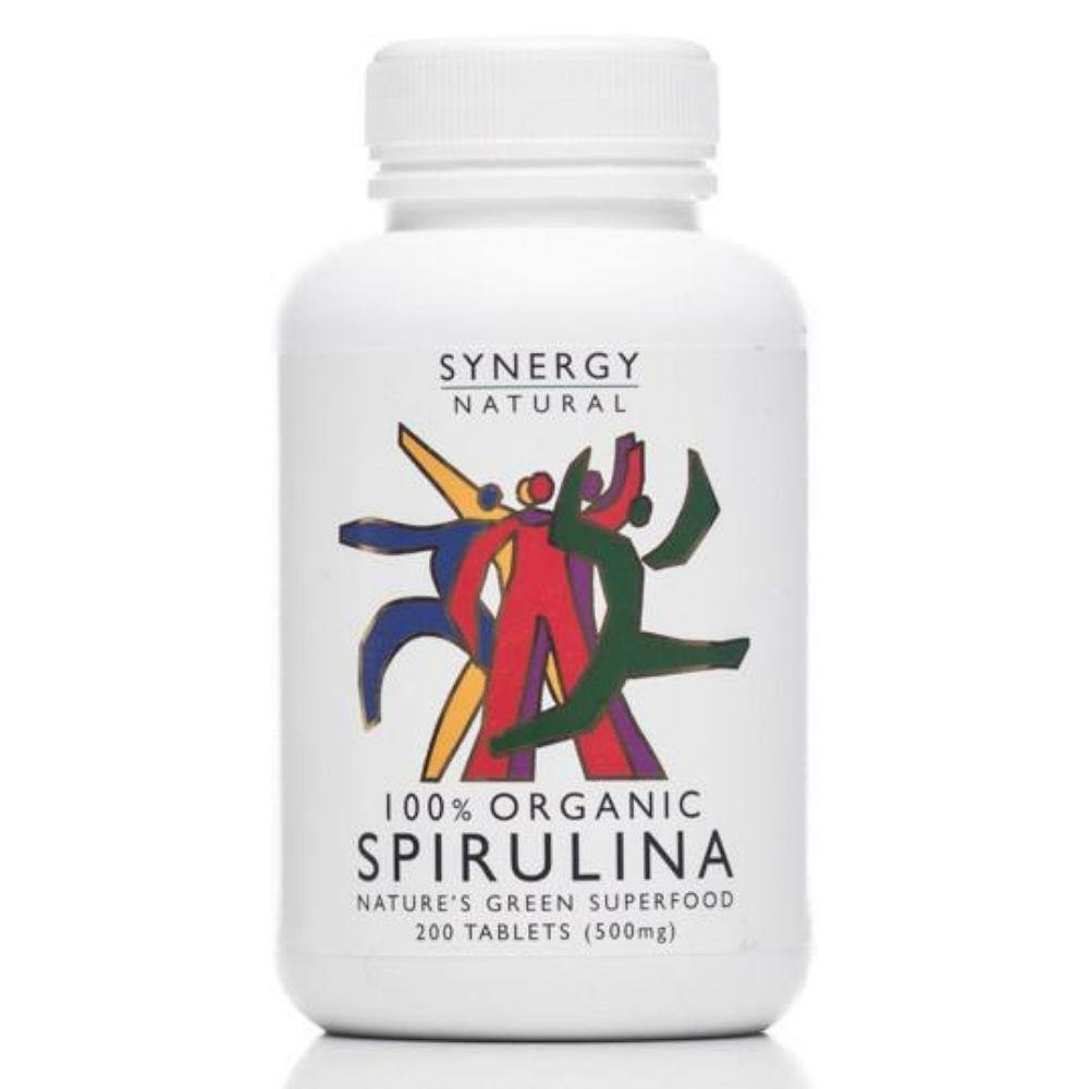 Synergy Natural Organic Spirulina 200 tablets