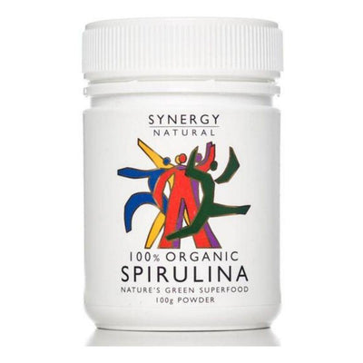 Synergy Natural Organic Spirulina Powder 100g