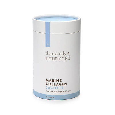 Thankfully Nourished Marine Collagen Sachets 100g